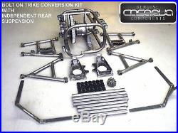 Casarva Quality DIY BELT Drive Trike Conversion Kit with Differential IRS