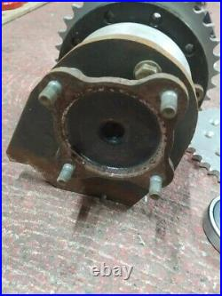 Chain drive LSD differential conversion kit car