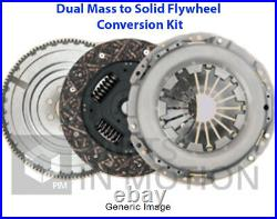 Dual to Solid Flywheel Clutch Conversion Kit fits NISSAN QASHQAI J10 2.0D M9R