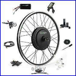 EBikeling Waterproof 48V 1200W 26 Direct Drive Front e-Bike Conversion Kit