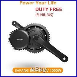 EU Duty Free latest 48V 1000W Bafang Mid Drive Kit 68/100/120 conversion kit 8fu