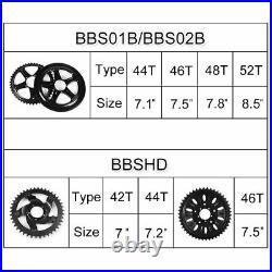 E-Bike Conversion Kit for BAFANG BBS01B 36V 350W Mid Drive Motor Display DPC18
