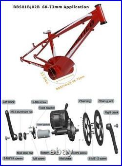E-Bike Electric Bicycle Bafang BBS01 36V 250W Mid-Drive Motor Conversion Kits