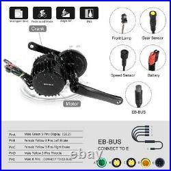 Ebike 48V 750W BBS02 Bafang Mid-Drive Motor Conversion Kit +52v 19.2Ah Battery
