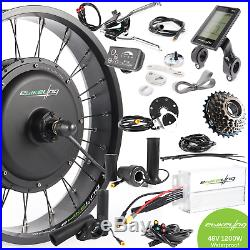 Ebikeling 48V 1200W 20 FAT Direct Drive Rear Electric Bicycle Conversion Kit