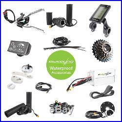 Ebikeling Waterproof 48V 1200W 26 Direct Drive Front Rear e-Bike Conversion Kit