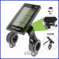 Ebikeling Waterproof eBike Conversion Kit 48V 1200W 700C Direct Drive Front Rear