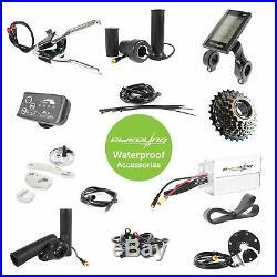 Ebikeling Waterproof e-Bike Conversion Kit 48V 1200W 26 Direct Drive Front Rear