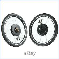 Electric Bicycle 36/48V Hub Motor Conversion Wheel Kit E-bike Modified DIY Refit