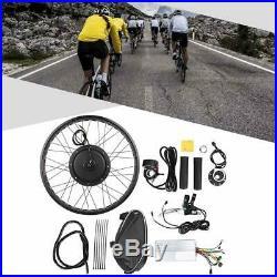 Electric Bicycle 48V 1000W Hub Motor Waterproof Conversion Kit Wheel 26x4 inch