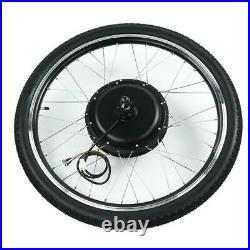 Electric Bike 36/48V 500/1000W Hub Motor Conversion Wheel Kit E-bike DIY Refit