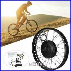 Electric Bike 48V 1000W Hub Motor Conversion Kit 26'' Wheel E-bike ModifiedG