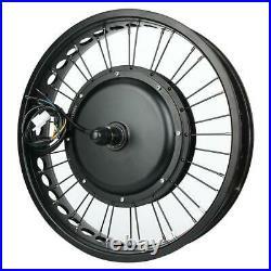 Electric Bike 48V 1000W Hub Motor Conversion Kit Wheel 20x4 inch+MeterTT