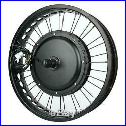 Electric Bike 48V 1000W Hub Motor Conversion Kit Wheel 20x4 inch with MeterF