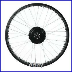 Electric Bike 48V 500W Hub Motor Conversion Kit Ebike Rear Drive Wheel 26 Set