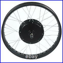 Electric Bike 48V/72V 1000-3000W Hub Motor Rear Wheel Conversion Kit 20''-26''T