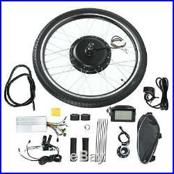 Electric Bike Bicycle 36/48V Hub Engine Motor Conversion 26'' Wheel Modified Kit