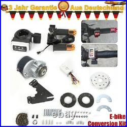 Electric Bike Conversion Kit 350W 24/36V for Common Bike Left Chain Drive Custom
