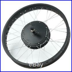 Electric Bike E-bike Conversion Kit 48V/72V Motor 20/26'' Wheel Modification Kit