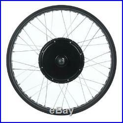 Electric Bike E-bike Conversion Kits 48/72V Motor Wheel LCD Meter Modification