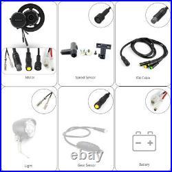 Electric bicycle BAFANG BBS02B 48V 500W Mid Drive Motor Conversion Kit DIY Gift