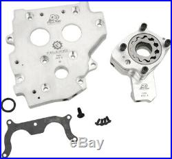 Feuling Conversion Kit OE+ Billet Cam Plate Oil Pump Chain Drive Harley 99-06