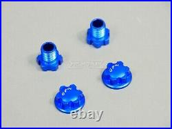 GPM For Traxxas Maxx 4S Wide Suspension & Drive Shaft Kit BLUE Aluminum