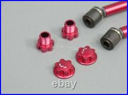 GPM For Traxxas Maxx 4S Wide Suspension & Drive Shaft Kit RED Aluminum