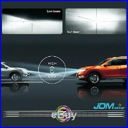 JDM ASTAR 2Pcs 6500K White 9005 HB3 8000LM LED Headlight Kit Hi/Low Beam Bulbs