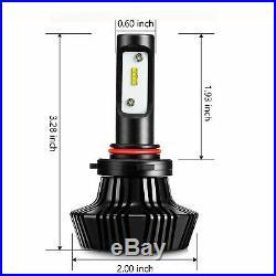 JDM ASTAR 2x7000Lm 9006 HB4 8th 6000K Xenon White Headlight High/Low Light Bulbs