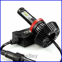 JDM ASTAR 2x7000lm 8th Gen. H11 H8 H9 6000K White LED Beam Headlight Replacement