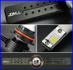 JDM ASTAR 2x 6S 8000LM 9007/HB5 LED Car Headlight Hi/Low Beam Bulbs Xenon White