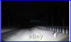 JDM ASTAR 2x 8000L H11 LED Headlight Low Beam DRL Fog Light Bulbs 6000K White