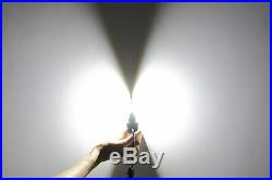 JDM ASTAR 7000LM 8TH 5202 5201 White LED Fog DRL Running Lights Lamps Headlight