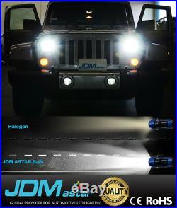 JDM ASTAR 8TH 8000LM 9007/HB5 LED Headlight Hi Low Bulbs White for Nissan Suzuki