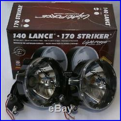 LIGHTFORCE 140 LANCE DRIVING SPOT LIGHTS With 55W HID CONVERSION KIT