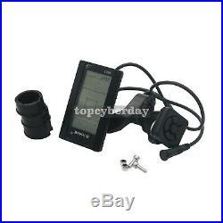 Mid Drive Motor Electric Bike Conversion Kit C965 LCD Display 36V/48V 750W UK
