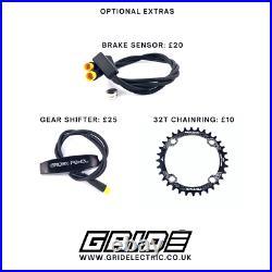 NEW Bafang BBS01B 250W 36V Mid Drive E-Bike Conversion Kit