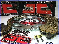SUZUKI SV650S'99-12 JT GOLD 530 Conversion X-Ring CHAIN AND SPROCKETS KIT