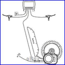 Tongsheng TSDZ2H 36V 250W Torque Sensor Mid Drive Motor Ebike Conversionn Kits