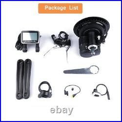 Tongsheng TSDZ2 Mid Drive Motor 48V500W Conversion DIY Kit for e-Bike Bicycle