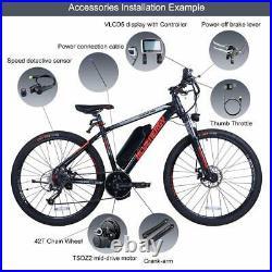 Tongsheng TSDZ2 Mid Drive Motor Torque Sensor Conversion Kits DIY Electric Bike
