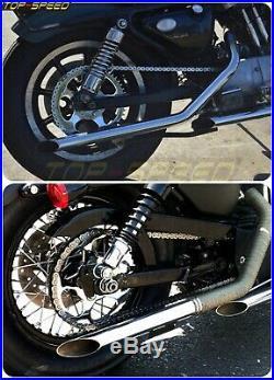 Transmission Sprocket Chain Drive Conversion Kit For Harley Sportster XL 2000-UP