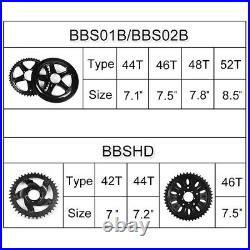 US Free Duty BAFANG BBS02 48V 750W Mid Drive Motor Electric Bike Conversion Kits
